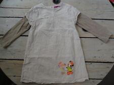 Robe manches longues coton beige imprimée Minnie DISNEY Taille 5 ans super état