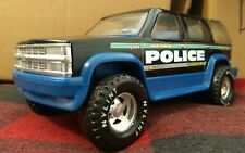 Police truck Chevrolet Tahoe 1500 Suburban toy nylint vintage pressed metal 1/16