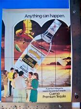 1984 Cuervo Tequila  Print Ad    Advertisment