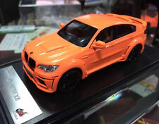 BMW 1/43 DieCast Model Car Bmw X6 Orange