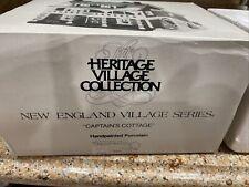 Dept 56 Captain's Cottage New England Village Series