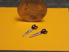 Dollhouse Miniature Scissors Set of 2   1:12 inch scale Z25G Dollys Gallery