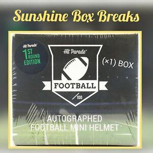 MIAMI DOLPHINS HIT PARADE SERIES 4 AUTO MINI HELMET LIVE (X1) BOX BREAK