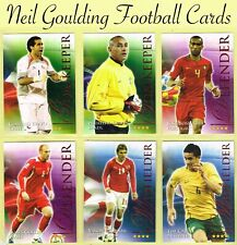 FUTERA - WORLD FOOTBALL SERIES 2 2010 ☆ RUBY PARALLEL ☆ Cards #401 to #575
