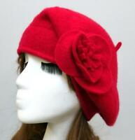 Women's Warm Winter Beret Fleece Lining Cap Casual Ski Lady's Painter Hat