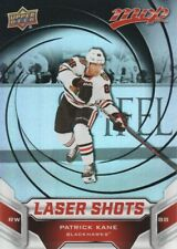 2019-20 Upper Deck MVP Hockey Laser Shots Red #S-4 Patrick Kane
