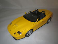 Hot Wheels/Mattel  Ferrari  550  Barchetta  (gelb) 1:18  ohne Verpackung !!