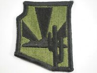 Arizona Army National Guard Subdued Patch