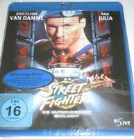 Street Fighter - Blu-ray/NEU/OVP/Action/Jean-Claude van Damme/Raul Julia/Sony