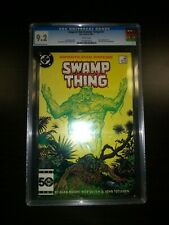 Saga of the Swamp Thing 37 CGC 9.2 White Pages First John Constantine Modern Key