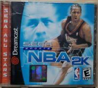 💿 NBA 2K (Sega Dreamcast 1999) Complete Sega All Stars Version Video Game