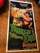 World Without End Sci-Fi Reynold Brown Pulp Art Ray-Guns Giant Spider Monster 3S