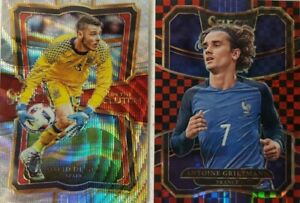 2017-18 Panini Select Soccer Card Singles CHECKERBOARD & In The Clutch