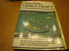1975 C. Boyd Pfeiffer Tackle Craft Paper Back Book Great Info L@K!