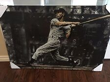 Stephen Holland Joe DiMaggio Signed NY Yankees LE 38/99 Canvas Giclee