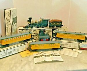 LIONEL O GAUGE 6-11706 DRY GUL LINE PASSENGER SET NEW IN BOX