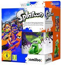 Gioco per Nintendo Wii U Splatoon Amiibo Calamaro Inkling Bundle Limited