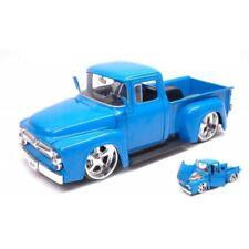 Ford F-100 Pick Up 1956 Blue 'just Trucks' 1 24 Model Jada Toys