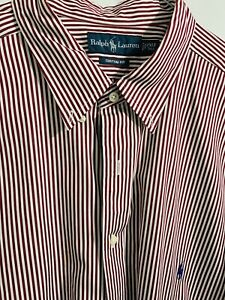 Authentic Ralph Lauren Polo Men's Dress Shirt 2XLT