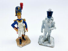 Napoleonic Metal Soldier Miniatures 54mm scale x2