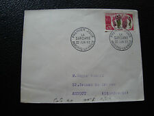 ANDORRE (francais) - enveloppe 1er jour 22/6/1963 (la sardane) (cy69) andorra