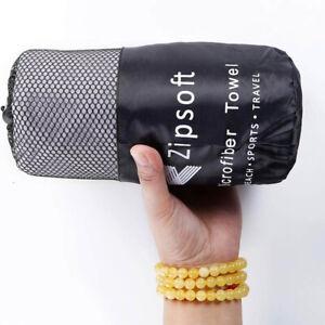 2 Size Microfiber Beach Towel Compact & Quick Dry Bath Towel Sand Resistant