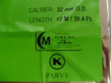 VEGETARIAN SAUSAGE CASINGS( KOSHER VEGAN, HALAL), 32mm / 21 WHOLE STRANDS
