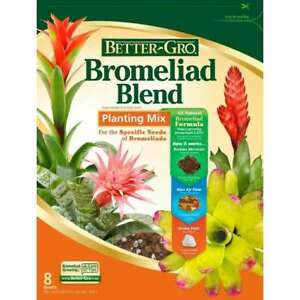 8-Quart Bromeliad Blend Planting Mix for  zoophytic plants and orchids
