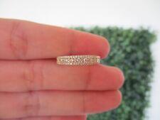 .42 CTW Diamond Half Eternity Ring 14k Yellow Gold HE154 sep *
