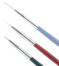 3pcs Nail Art Brush Painting Drawing Pen Liner super thin Paint