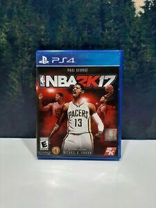NBA 2K17 Basketball Sony PlayStation 4 PS4 Game