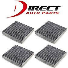 4 - CHARCOAL TOYOTA CABIN AIR FILTER OE# 87139-YZZ08 / 87139-07010 / 87139-YZZ10