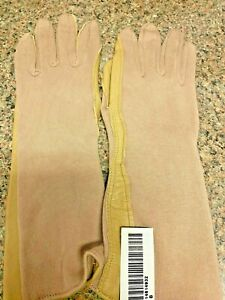 Nomex Pilot Tactical Summer Flight Gloves - Tan - size 8