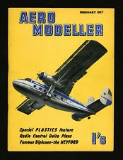 "1957/Feb ""Aero Modeler Magazine"" Scottish Aviation Limited ""Twin Pioneer"" Cover"