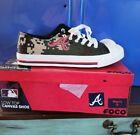 MLB Atlanta Braves shoes Low canvas mens camo men's