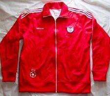 3XL Mens ADIDAS TREFOIL Soccer Football CUBA Track Jacket CUBAN FLAG Red Blue