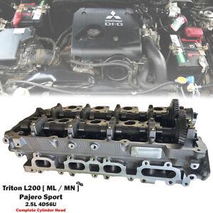 Engine Cylinder Head For Mitsubishi Triton L200 Pickup 2.5L 4D56U 2005-2014
