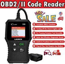 Car Code Reader  Automotive Scan Tool OBD2 EOBD Fault Code Read Diagnostic OBDII