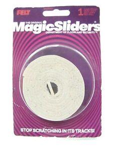 MAGIC SLIDERS Self Adhesive Felt Roll 1/2 inch x 60 inch Oat #63050