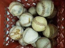 Lot of 17 Used Softballs Slowpitch Fastpitch Practice (g23)