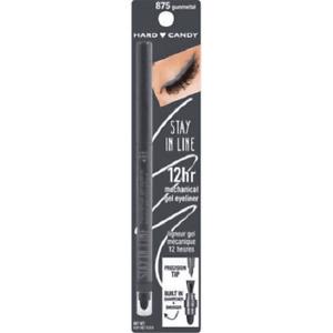 Hard Candy  Stay in Line 12 Hr Mechanical Gel Eyeliner w prec tip - 875 Gunmetal