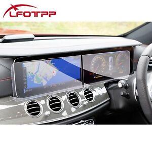 LFOTPP Car Touchscreen Protector Tempered Glass For 2021 Mercedes-Benz E-Class