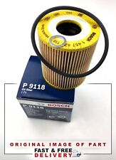 GENUINE BOSCH OIL FILTER FOR BMW LAND ROVER VAUXHALL OPEL 1457429118 / P9118