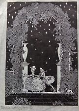 Boris Artzybasheff Signed 1923 Woodcut Cartoon Made For Judge Magazine
