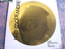 Fabrizio De Andrè - Tutti morimmo a stento - LP 1970