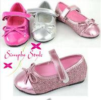 chaussures ballerines enfant de bébé baptême Taille 19 - 24