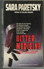 Bitter Medicine by Sara Paretsky (1988, Paperback) V.I. Warshawski Crime Novel