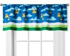 CIRCO BUG COLLECTION WINDOW VALANCE BLUE ORANGE YELLOW BEE WASP CLOUD NEW