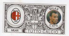 figurina - TUTTO CALCIO EURO MONETE  - MILAN CAFU