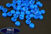 10 x Blaue Kennzeichen Schrauben Kappen für LKW PKW Motorrad